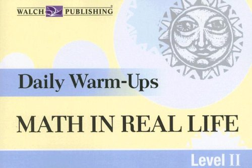 9780825163166: Daily Warm-Ups for Math in Real Life Level II, Grade 9-12 (Daily Warm-Ups)