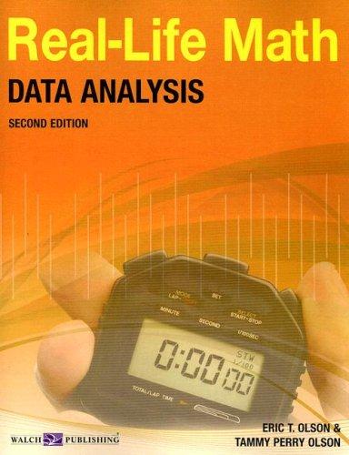 9780825163227: Real-Life Math for Data Analysis, Grade 9-12 (Real-Life Math (Walch Publishing))