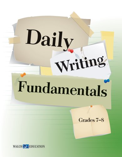 9780825164101: Daily Writing Fundamentals Series, Grade 5-12 (Daily Warm-Ups)