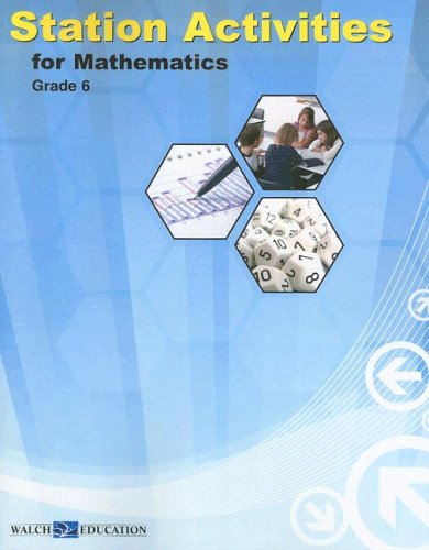 9780825164507: Station Activities for Mathematics, Grade 6