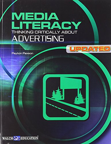 9780825165122: Media Literacy: Thinking Critically About Advertising