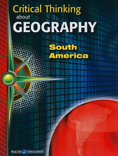 9780825165955: Critical Thinking About Geography: South America