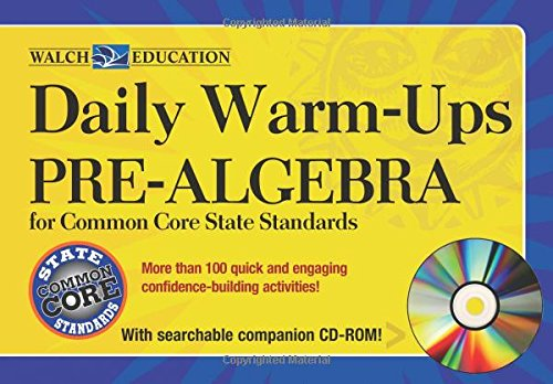 9780825168840: Daily Warm-ups Pre-Algebra for Common Core State Standards