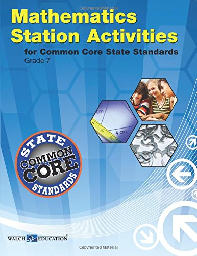 9780825174254: Common Core State Standards Station Activities for Gr 7, Revised Edition (Ccss Station Activities for Middle School Series, Revise)