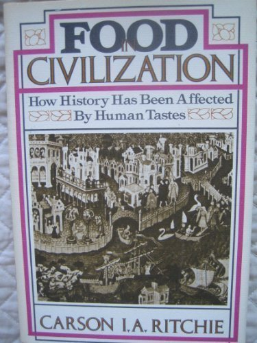 9780825300370: Food in civilization: How history has been affected by human tastes
