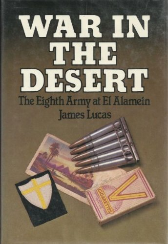 9780825301537: War in the Desert: The Eighth Army at El Alamein