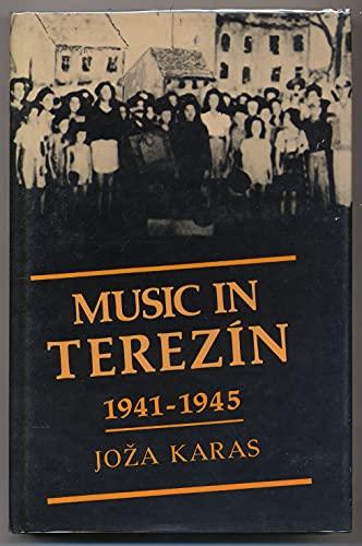 9780825302879: Music in Terezín 1941-1945