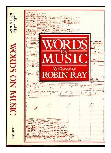 9780825303074: Words on Music
