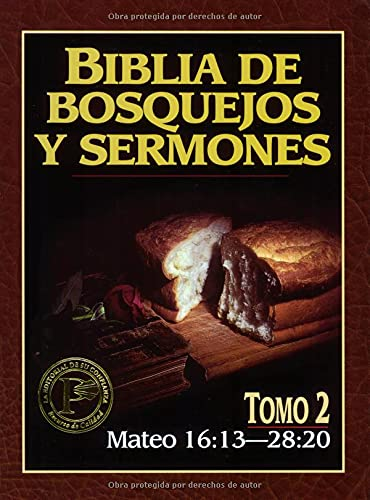 9780825410079: Biblia de Bosquejos y Sermones-RV 1960-Mateo V02 16-28 (Biblia De Bosquejos Y Sermones N.T.)
