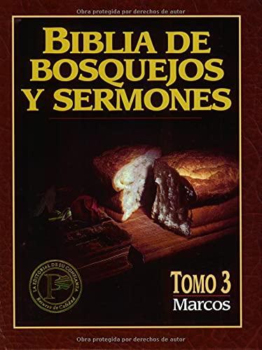 9780825410086: Biblia de Bosquejos y Sermones-RV 1960-Mark: 3 (Biblia De Bosquejos Y Sermones N.T.)
