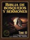 Biblia de Bosquejos y Sermones-RV 1960-1 y: Anonimo