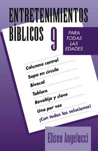 9780825410253: Entretenimientos biblicos #9 (Entretenim/bÌblicos) (Spanish Edition)