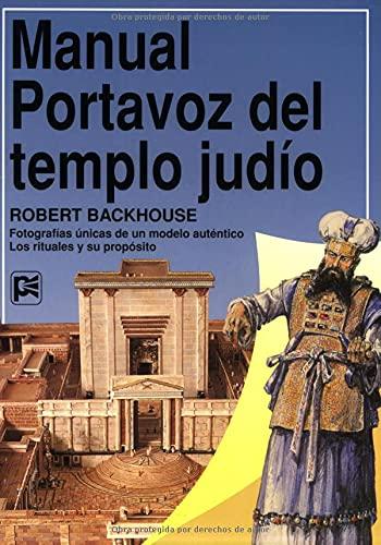 9780825410475: Manual Portavoz Del Templo Judio (Guías De Estudio Portavoz)