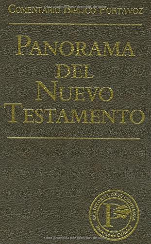 9780825410840: Panorama del Nuevo Testamento (Comentario Bíblico Portavoz) (Spanish Edition)