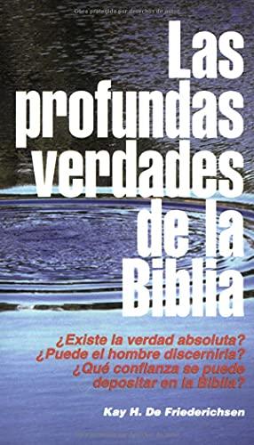 9780825412486: Las Profundas verdades de la Biblia (Spanish Edition)