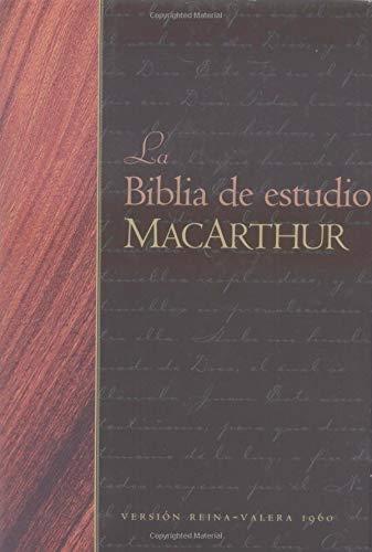 9780825415326: La Biblia de estudio MacArthur (Spanish Edition)