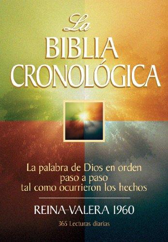 9780825416354: La Biblia cronologica (Spanish Edition)