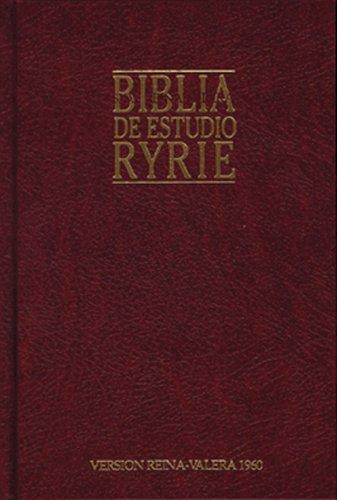 9780825416415: Biblia de estudio Ryrie: Ryrie Study Bible (Spanish Edition)