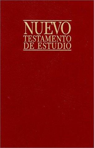 9780825416477: Nuevo Testamento de estudio (Spanish Edition)