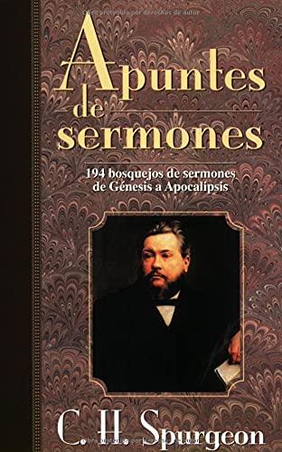 9780825416750: Apuntes De Sermones: Spurgeon's Sermon Notes