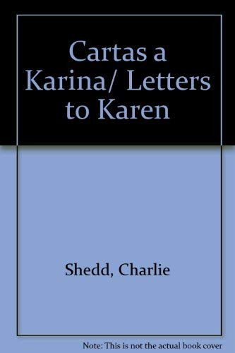 9780825416804: Cartas a Karina (Spanish Edition)