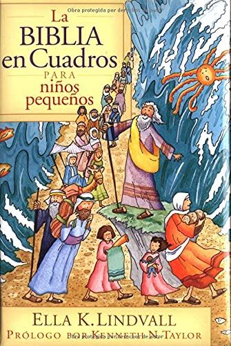 9780825417108: La Biblia en cuadros para niños pequeños (Spanish Edition)