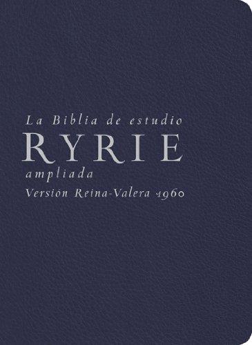 9780825418174: La Biblia de Estudio Ryrie Ampliada-Rvr 1960