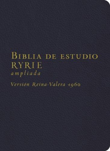 9780825418181: Biblia de estudio Ryrie / Ryrie Study Bible: Version Reina-valera 1960, Negro, Imitacion Piel