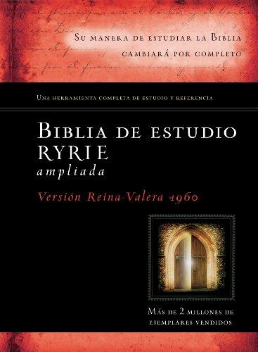 9780825418198: Biblia de estudio Ryrie ampliada (Spanish Edition)