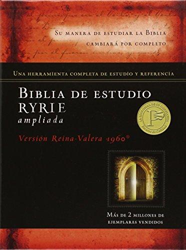 9780825418297: Biblia de estudio Ryrie ampliada duotono (Spanish Edition)