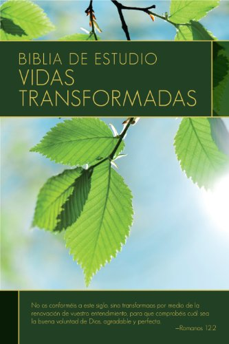 9780825419812: Biblia de Estudio: Vidas Transformadas-Rvr 1960