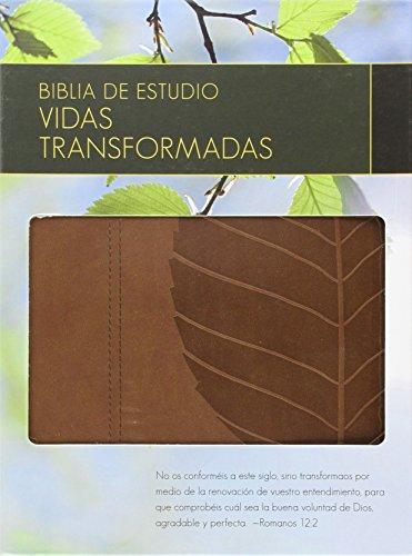 9780825419829: Biblia de Estudio Vidas Transformadas-Rvr 1960