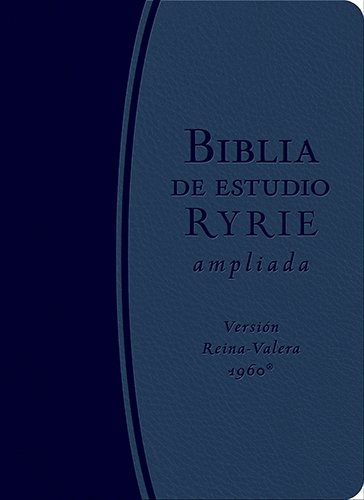 9780825419959: Biblia de estudio Ryrie: Reina-valera 1960, Azul, Duotono