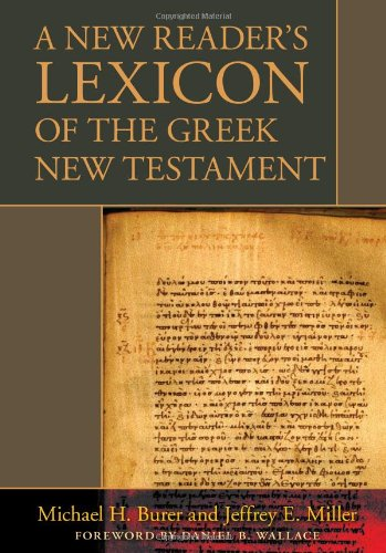 9780825420092: A New Reader's Lexicon of the Greek New Testament
