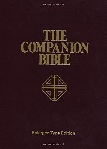 9780825420993: The Companion Bible: Enlarged Type Edition