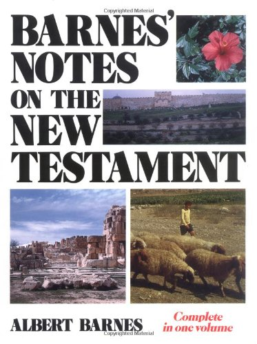 9780825422003: Barnes' Notes on the New Testament