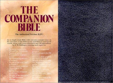 9780825422409: Bullinger's Companion Bible, Indexed