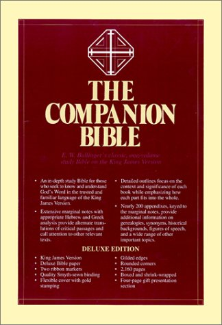 9780825422881: The Companion Bible: King James Version Burgandy Bonded Leather