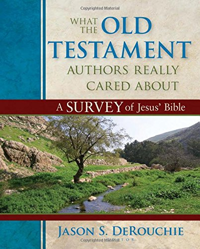 9780825425912: What the Old Testament Authors Really Cared About: A Survey of Jesus' Bible