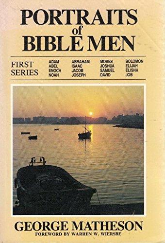 9780825432514: Portraits of Bible Men (Portraits of Bible characters)