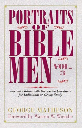 9780825432941: Portraits of Bible Men (Bible Portrait)