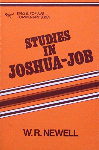 9780825433146: Studies in Joshua-Job (Kregel popular commentary series)