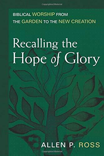 9780825435782: Recalling the Hope of Glory