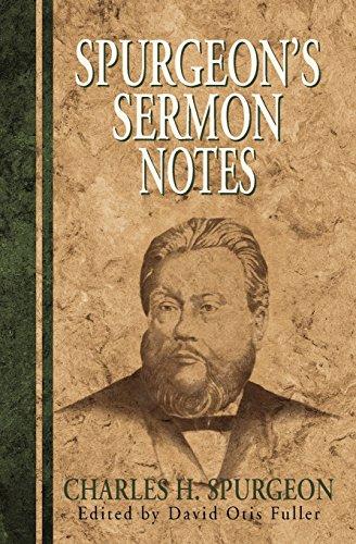9780825437687: Spurgeon's Sermon Notes