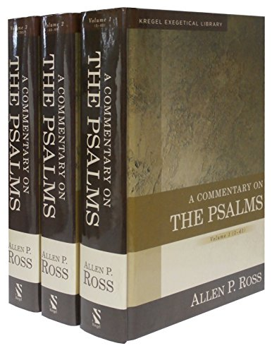 9780825442322: A Commentary on the Psalms: 3 Volume Set (Kregel Exegetical Library)