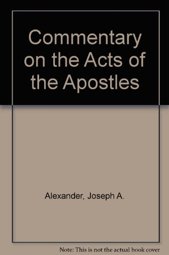 9780825450037: Commentary on the Acts of the Apostles