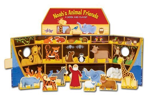 9780825455421: Noah's Animal Friends: A Book and Playset
