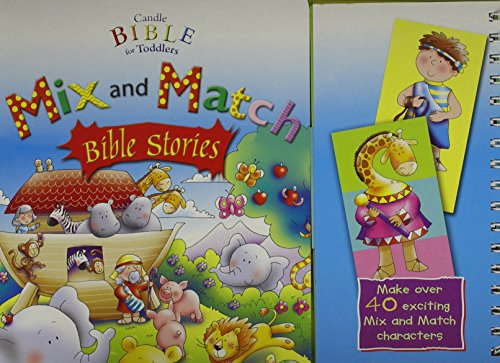 9780825472008: Candle Bible for Toddlers Mix and Match Bible Stories
