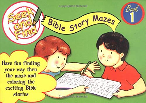9780825472060: Seek and Find Bible Mazes: Seek and Find Bible Story Mazes