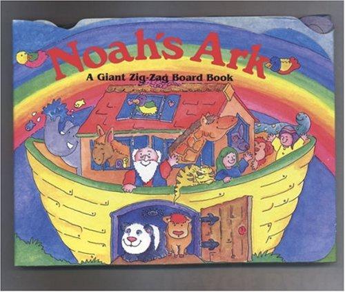 Giant Zig-Zag Noah's Ark (Giant Zig-Zag Board: Illustrator-Jenny Tulip